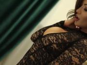 AriannaAri LiveJamsmin webcamgirl teasing striptease horny