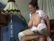 Mature Nurse Gets Fucked
