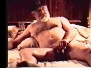 Gay Chubby Older Bear - Grandpa Fireside Fantasy