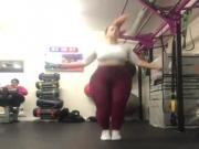 Chubby girl bouncy tits not naked