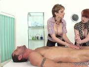 Lady Sonia - Double team merciless handjob