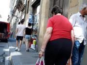 Granny walking Big Ass