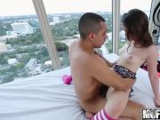 Dont Break Me - Kylie Quinn - Petite Brunette Takes Major D