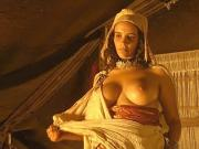 Amina Annabi Nude Boobs In The Sheltering Sky ScandalPlanet