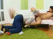 Ebony Isabella anal fuck old man