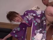 Uncensored - Kimono girl - Eri Hosaka