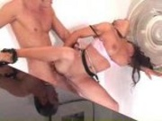 Pink Pussy is Bent Over then Pounded and Fucked
