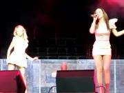 upskirt while singing