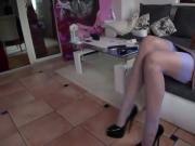 Tamia - Heels und echte Nylons RHT - ladygaga-heels