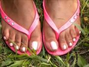 Hood MILF Pink Toenails