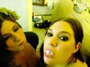 BBW CC and Friend Take Turns Deepthroating Dick