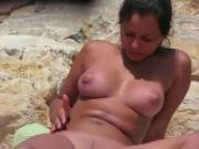 Nudist beach sexy girl