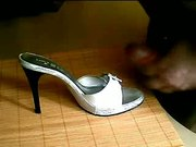 cum on my wife heels 2