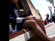Turkish Street Pantyhose Legs 2