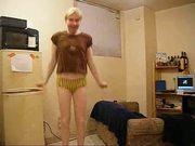 superhot tranny stripper PART TWO