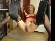 mature fisting and toying