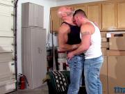 Buff gay fuck and jizz