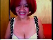 Mature slut on webcam2