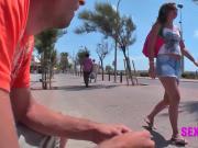 Mallorca Schlampe angeschleppt!!!