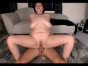Chubby Slut Ex Gf with wet pussy loves riding cock