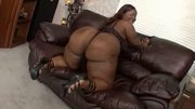 Bbw black very big butt ass good tits facial