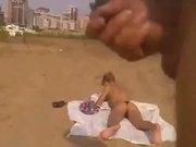 Rus Public Masturb BEACH contact ABUSES GIRL 23 - NV