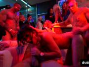 Sinfully bisexual pornstars fucking at sex party