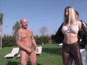 Italian Blonde Lara dped