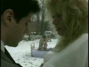 Couple fucking outside in the snow
