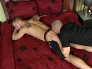 Men Over 30 Pierced Cock Getting Blown and Fucked