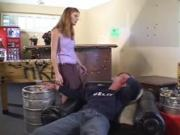 SB3 Stepsister Gives Stepbrother His Wake Up Call !