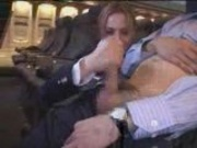 American Stewardess Handjob - Part 4