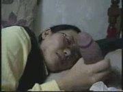 asian girl gets a facial