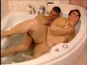 Sexy Mature BBW Fucked in Bath