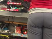 Fluffy VPL MILF PAWG Ass in Line