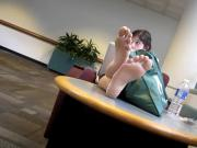 Candid feet #158