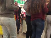 Big Latina Ass in Leggings