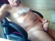 Grandad wanking