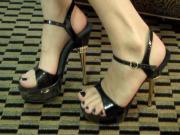Black Toes Dangling