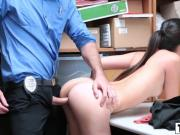 Sultry Cutie Thief Gets Fucked