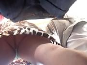 pendeja con un orto rico y un vestido tigresa la tanga rica