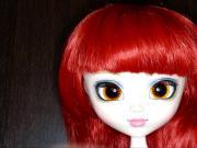 Cumshot on doll 4 - facial bukkake
