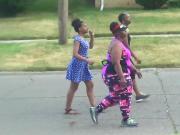 candid curvy street women