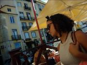 Inglesa em Lisboa - Mini-Saia Ganga