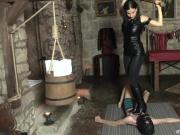 Painful Czech Trampling - Lady G and Her Dangerous Heels
