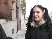 Adorable schoolgirl Anie Darling enjoys sex after massage