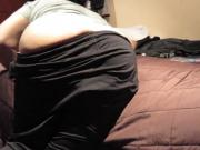 My wife blowjob cum on mouth