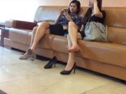 Candid Asian Shoeplay 5 Feet Nov 2016