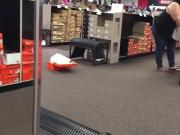 Brunette BBW Shopping For Shoes