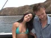 She fucks her stepdad on the boat